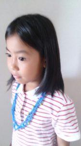 子ども編み物ネックレス