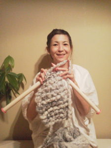 まゆみジャンボ編み