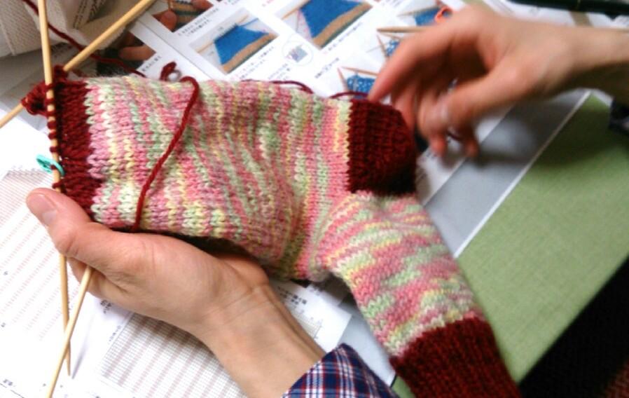 福岡編み物教室ジャーニー一般フリーコース