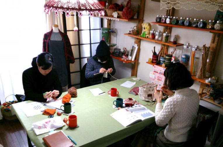 福岡編み物教室ジャーニー 今泉アトリエ少人数教室